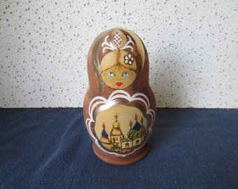 Russian Nesting Dolls, Group of 5