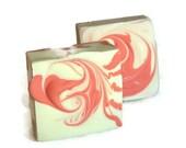 Trippy Hippie Blood Orange Patchouli  Shampoo Bar, Natural Hair Care, Sulfate Free Solid Shampoo