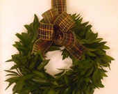 Fresh Bay Laurel Wreath