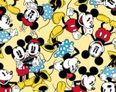 Yellow Disney Mickey & Minnie Togetherness from Springs Creative