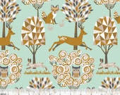 Natural Wonder - Enchanted Forest Blue from Blend Fabrics