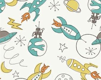 Circa 52 - Space - Organic Cotton Fabric by Monaluna from Birch Fabrics