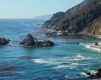 Big Sur California Coast Photograph, Fine Art Photography, Travel Photography, Beach Photography, Coastal Decor, California Photo