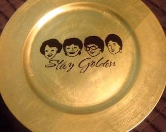 Golden Girls Decorative Plate