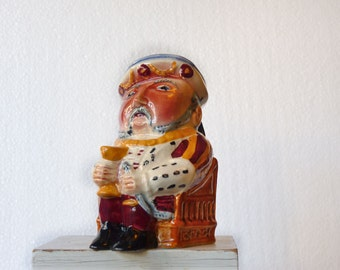 King Henry toby mug, Shorter and Sons, Henry the Eighth Staffordhire ceramic mug