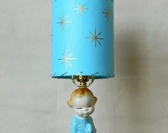 Vintage Child Lamp