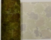 Mix of Printed 6 inch wide Tulle Mesh Ribbon / Camo, Leopard, Zebra - 12 yards
