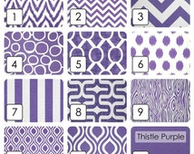 Deep Purple Curtain Panels. Window Drapes. 63, 84, 96, 108, 120 Lengths. Curtains. Thistle Purple Drapery.
