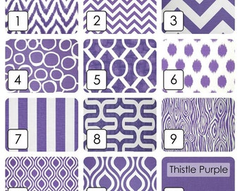 Deep Purple Curtain Panels. Window Drapes. 63, 84, 96, 108, 120 Lengths. Curtains. Thistle Purple Drapery.