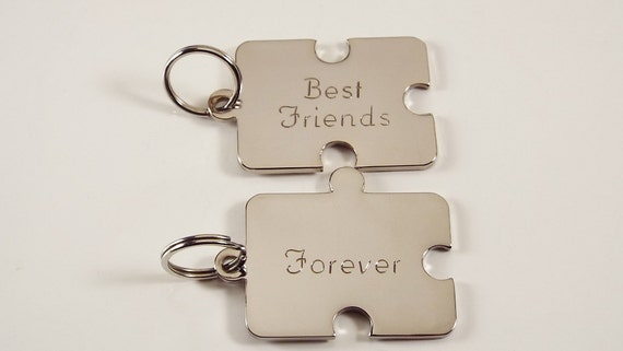 keychain set a unique gift for your best friend or special. Black Bedroom Furniture Sets. Home Design Ideas