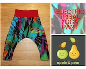Electric Tribal Print Baby Pants toddler childrens Yoga pants