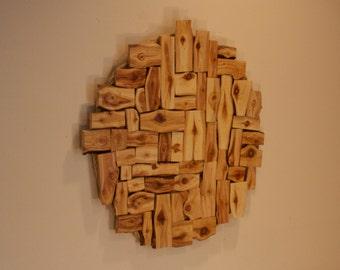 Aspen wall sculpture. - Wood wall art - Modern rustic decor - Wall art - Wood wall decor