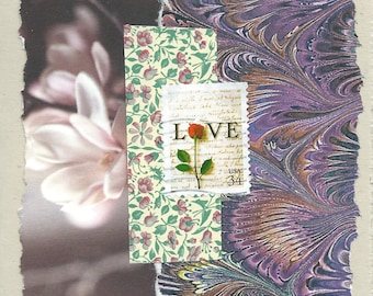 Love: Collage Card