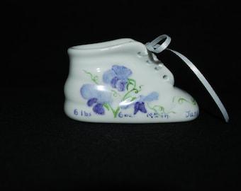 Custom Porcelain  Baby Shoes