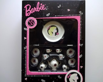 Vintage 35th Anniversary Barbie Tea Set 1994