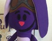 Purple bunny Doll, tv character, cartoon