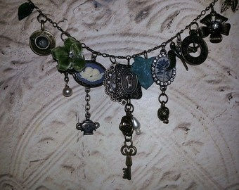 Teatime in the Garden Choker Necklace