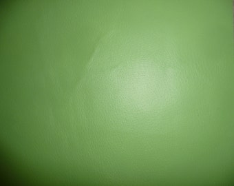 "Leather 8""x10"" Avocado Green PIGSKIN Hide 2 oz / .8 mm PeggySueAlso™"
