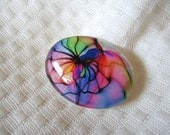 Focal designer cabochon-30mmX40mm cabochon-beading and jewelry glass