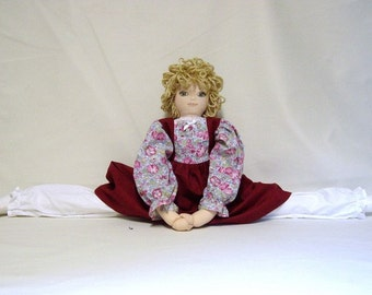 Doll - Door draft stopper doll, Door draft guard