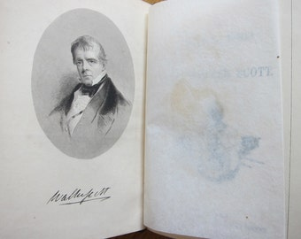 19th Century The Poetical Works of Sir Walter Scott printed by Ballantyne and Company