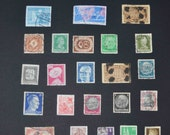 50 German Stamps  1930's- 1960's