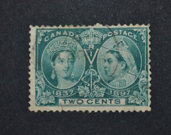 1897 Canadian stamp used very fine condition