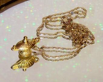 Magic Lamp Necklace Etsy