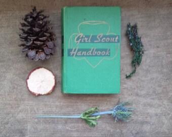 Vintage Girl Scout Handbook, Circa 1947