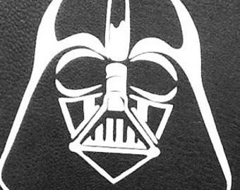 Star Wars Darth Vader vinyl window decal, 5x5, outdoor vinyl sticker