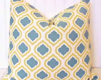 Gray and Yellow Pillow, Throw Pillow, Decorative Pillow Cover, Cushion Cover, Gray Pillow, Yellow and Gray Accent Pillow