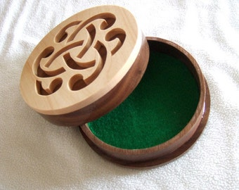 Celtic Jewelry Box - Trinket Box - Irish Gift  - Celtic Knot