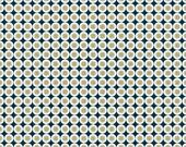 Cloud9 Organic Fabrics - Micro Mod - Vertigo Teal 1/2 YD