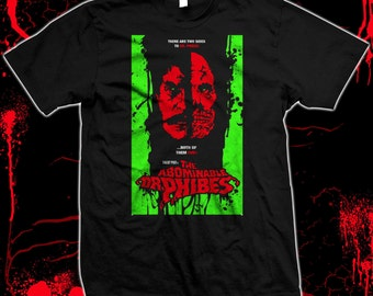 The Abominable Dr. Phibes - Vincent Price - '70s Horror Pre-shrunk hand screened 100% cotton t-shirt