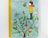 Notebook, illustrated travel book - Colorful Winter 1