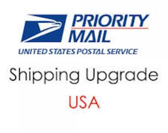 Priority Mail Upgrade for US Customers Only