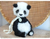PATTERN Download to create teddy like Panda 7 inch