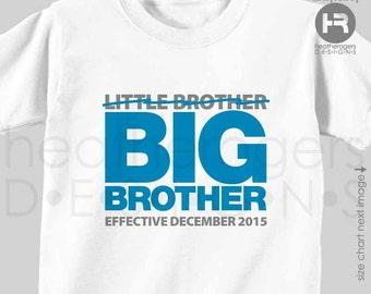 Big Brother Shirt - Pregnancy Announcement Shirt - Promoted to Big Brother Shirt - baby announcement shirt - Big Brother to be shirt