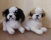 japanese chin crochet miniature dog