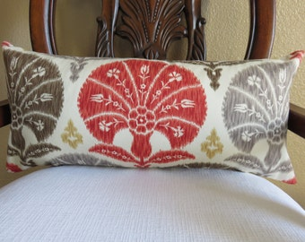 10x27 Pillow Cover - Decoarative Pillow -Ivory Pillow - Spring Pillow -BrownPillow- Red Pillow- Gray Pillow