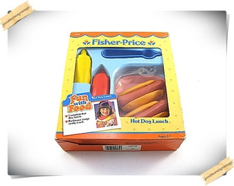 Fisher Price Hot Dog Lunch