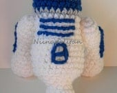 Star Wars Inspired Amigurumi Doll - R2D2 - MADE TO ORDER