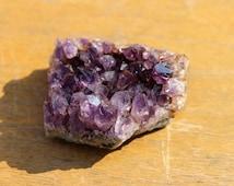 Amethyst Druzy - FREE Shipping in USA - Palm Sized, Amethyst Druzy, Deep Purple Crystals, Portland, Oregon