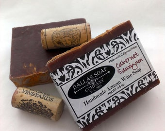 Cabernet Wine Soap