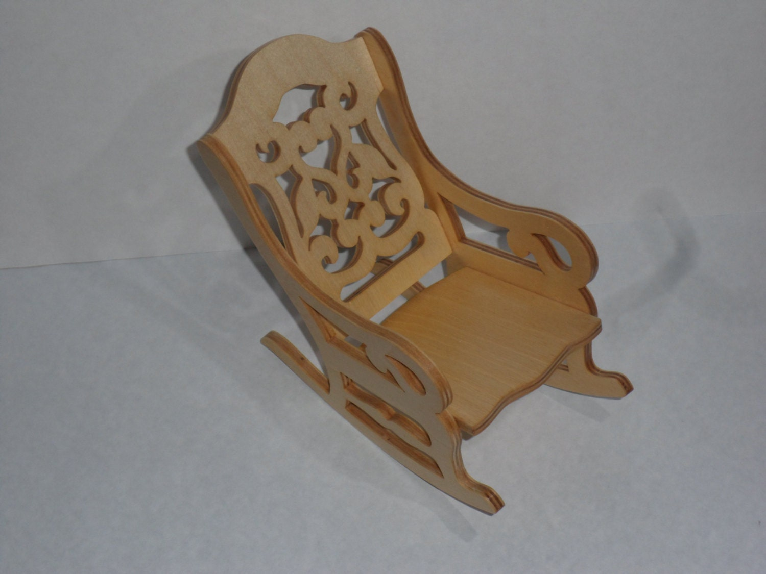 Doll rocking chair by KentsKrafts on Etsy