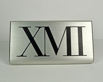 Store Display Sign / XMI Designer Clothing Store Display Sign / Store Supply