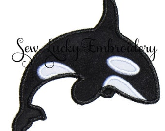 Whale Patch - Whale Iron on Patch - Whale Sew On Patch - Applique - Embroidered Patch - Iron on patch - Sew on Patch