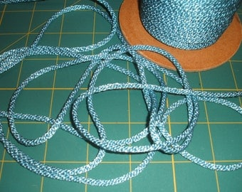 3mm wide Light Blue Silky Cord x five yards
