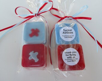Airplane Soap Favors