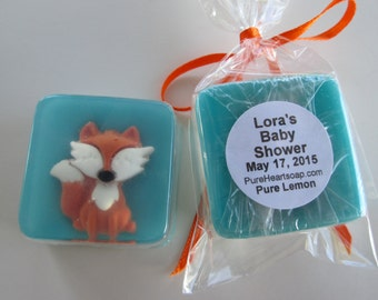 Fox Soap Favors